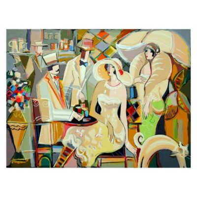 """Isaac Maimon, """"Charming Bistro"""" Limited Edition"""