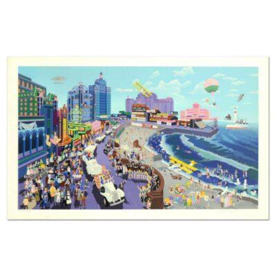 "Melanie Taylor Kent, ""Boardwalk of Atlantic City"""