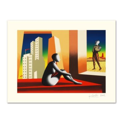 """Mark Kostabi """"Windows Of Opportunity"""" Limited Edition"""