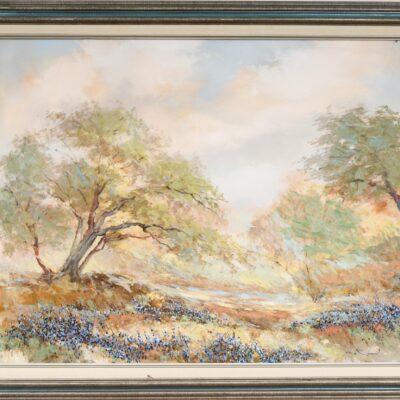 Walter Edwin McCown (1932-1994), Bluebonnet Landscape