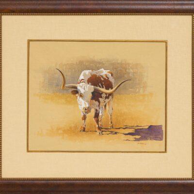 """Mark Kohler (b. 1963), """"Bracy's Someday Steer"""""""