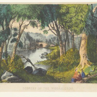 C and I, Scenery of the Wissahickon, Near Philadelphia