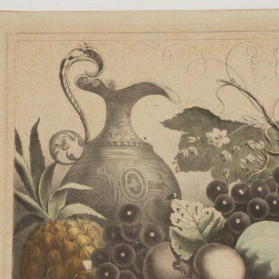 Wm. C. Robertson, American Prize Fruit With Basket, Litho