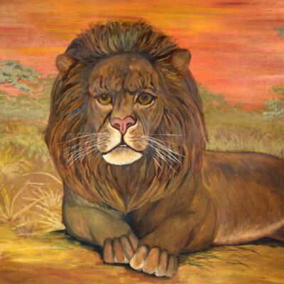 Helen LaFrance. Lion.