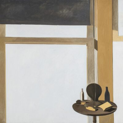 Modern Still Life Large Oil on Canvas