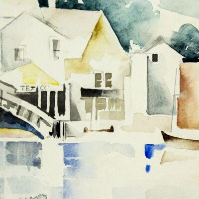 Susette Keast watercolor painting