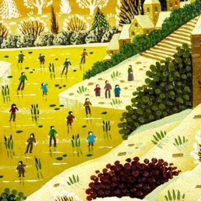 Alain Thomas (French,born 1942) oil painting